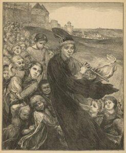 Крысолов из Гамельна популярная легенда Средневековой Германии